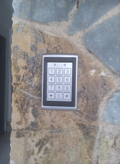 key pad access control